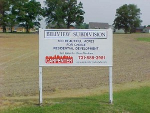 Bellview Subdivision